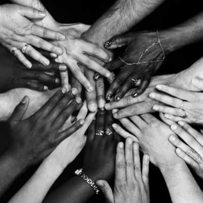 The hands are where the action takes place; where we use our knowledge and passion for justice to become allies, advocates, and agents of change. This is where we take tangible steps to dismantle barriers and create equitable opportunities not just for our clients, but for our staff, board, MDT, and the community as a whole.